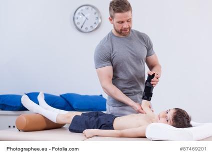 Physiotherapeuten in fremder Praxis sind selbständig