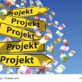 Projektvertrag