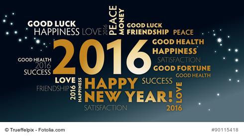 2016 wird ein aufregendes Jahr!